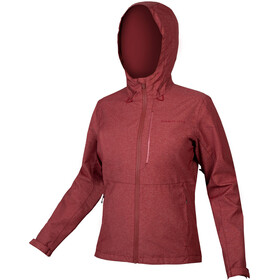 Endura Hummvee Waterproof Hoodie Jacket Women cocoa